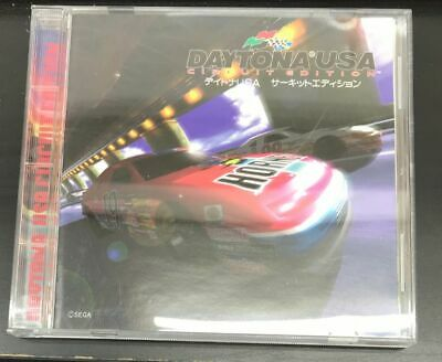 USED Sega saturn ​​Daytona USA Circuit Edition Japan