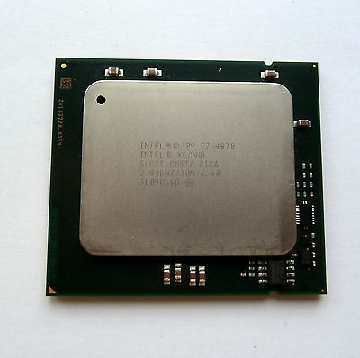 Intel E7 4870 2.4GHz 10 Cores 30MB Cache SLC3T LGA1567 CPU Processor