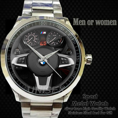 Jewelry & Watches Helpful New ! Men Fashion Bmw X5 Car Logo Emblem Leather Sport Metal Watch