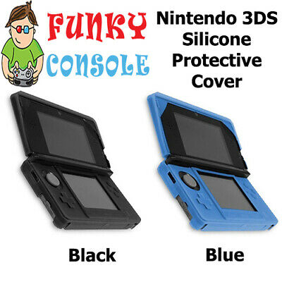 Nintendo 3DS Silicone Rubber Gel Console Protective Skin Soft Case Cover