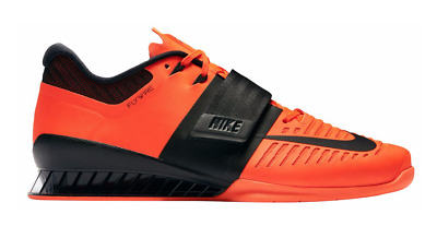 29e98a0d1463b BRAND NEW NIKE Romaleos 3 Men's Weightlifting Shoes 852933-801 Hyper  Crimson NIB