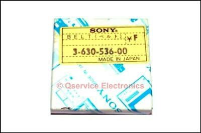 Sony 3-630-536-00 Genuine Rubber Belt VO-1800 Umatic Recorders NOS Boxed