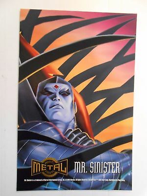 Marvel Metal Prints - Mr. Sinister -  1995  Stock Image Unbespielt