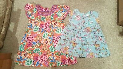 Girls designer floral bundle Monsoon dress & new with tags Joules top. Age 5