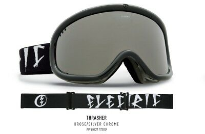 NEW Electric Charger Matte Black Red Mirror mens ski snowboard goggles Ret$80