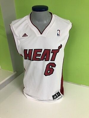 LEBRON JAMES MIAMI Heat adidas Youth XL Replica Road Jersey - Black ... e030a5e07