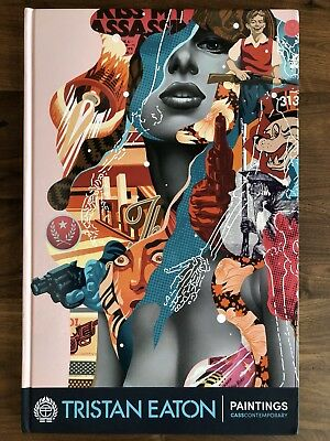 Tristan Eaton Paintings Book Signed Edition Autographed Limited Edition Mural