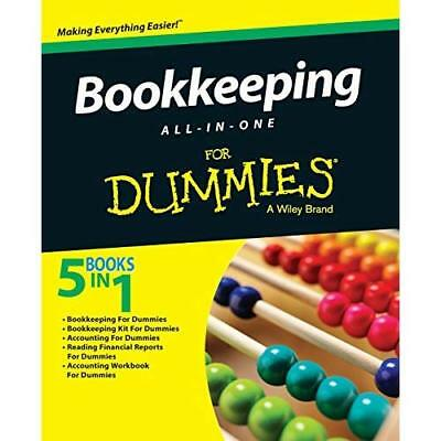 Bookkeeping All-in-one for Dummies Consumer Dummies (Corporate Author)