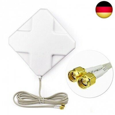 Eightwood 4G LTE Antenne 35dbi SMA Stecker(Male) Omni Directionale Signalvers...