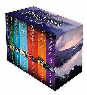 Harry Potter The Complete Collection J K Rowling 7 NEW Books Box Boxed Gift Set!
