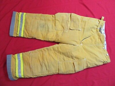 Globe  Firefighter Bunker Turnout Pants 38 x 28  thermal liner costume gear