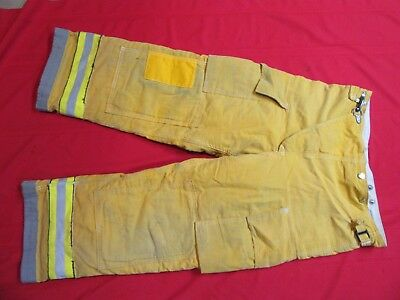 Globe  Firefighter Bunker Turnout Pants 38 x 28  thermal liner costume GEAR FIRE