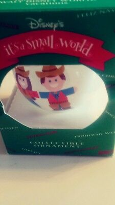 Disney It's A Small World 1995 Japan Collectible Christmas Ornament