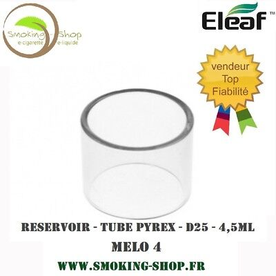 Réservoir / Tube Pyrex MELO 4 D25 - 4,5ML - ORIGINAL ELEAF