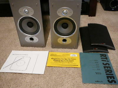 Polk Audio RTi6 Bookshelf Speakers Pair Excellent Condition