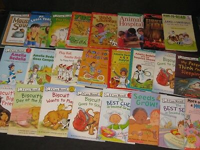 Learning To Read Level 1 & 2 Learning To Read Children's Book Lot