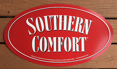 """Southern Comfort Retail Trade Sign (Tin)  – Louisville, Kentucky """"Last One"""""""