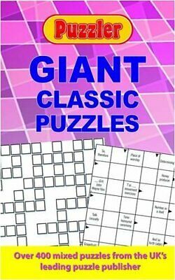 Puzzler Giant Classic Puzzles by Puzzler Media Paperback Book The Cheap Fast