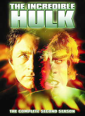 The Incredible Hulk: Season 2 Complete Second DVD NEW Sealed, Free Shipping