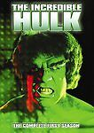 The Incredible Hulk: Season 1 Complete First DVD NEW Sealed, Free Shipping