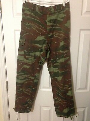 French Lizard Pants Francophone African Nations Camo Camouflage Military Unknown