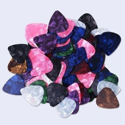 Pick Your Quantity Thin Celluloid Guitar Picks  Free Ship 10 to 1000 New