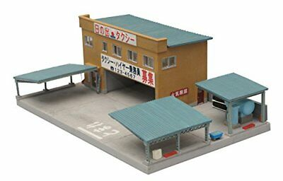 Tomytec Building 077 Japanese Taxi Station 1/150 N scale Japan
