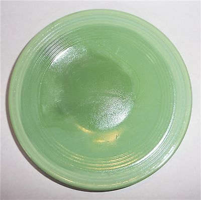 Akro Agate Large Concentric Ring Lime Green Plate ~ 8 Available