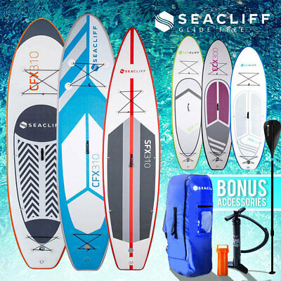 SEACLIFF Stand Up Paddle Board Inflatable SUP Surfboard Paddleboard Kayak Surf