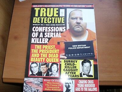 True Crime Detective Monthly APRIL 2018  FREE UK POST