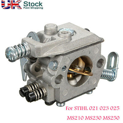Engine Chainsaw Carburetor Carb For Stihl Ms210 Ms230 Ms250 023 025 021 Uk
