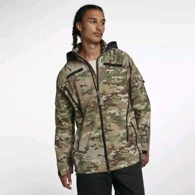 abacb0cd31 NIKELAB COLLECTION MEN'S JACKET CAMO OLIVE Size L (AO0813-222) New ...