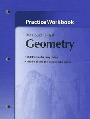 Holt McDougal Larson Geometry: Practice Workbook by MCDOUGAL LITTEL