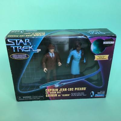 Vintage Star Trek Boxed Dixon Hill Guinan Holodeck Action Figures Series 1990s