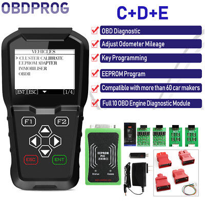 OBDPROG MT601 OBD2 Car Immobilizer+Mileage Adjustment+EEPROM Diagnosis Read Code