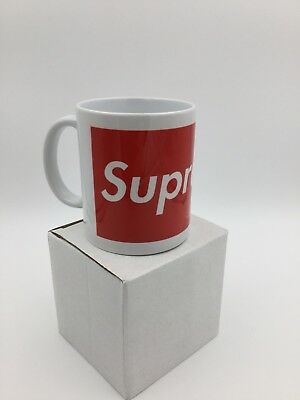 Hot Dope Supreme Ceramic Home Coffee Tea Mug Cup Fresh Jordan Trend Exclusive