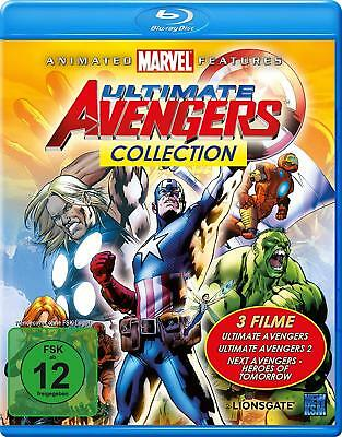 Ultimate Avengers Collection (3 Filme) - MARVEL ANIMATED - BLU-RAY/NEU/OVP
