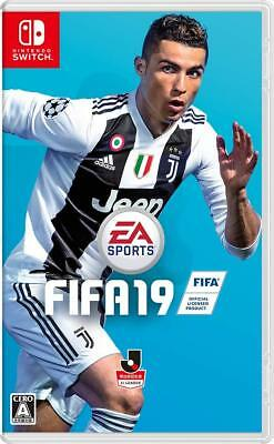 NEW Nintendo Switch FIFA 19 STANDARD EDITION JAPAN import Japanese game
