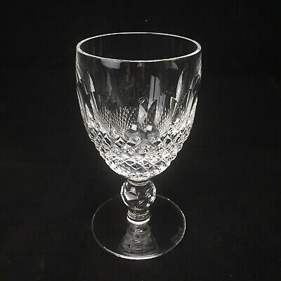 Waterford Colleen White Wine Crystal Glass Short Stem Stemware 4 1/2