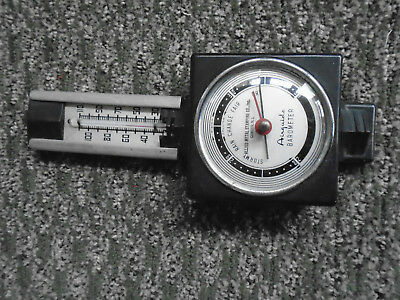 vintage Airguide Barometer withe thermometer!.