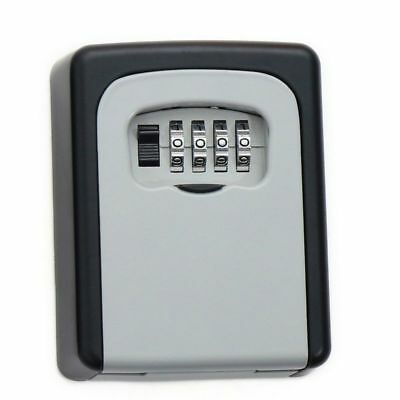 Outdoor Safe Key Box Key Storage Hide-A-Key With 4 Digit Combination Password