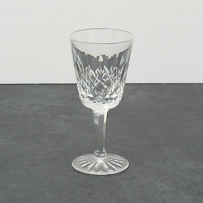 Waterford Crystal Lismore Pattern White Wine Glasses Set of 12 Drinkware