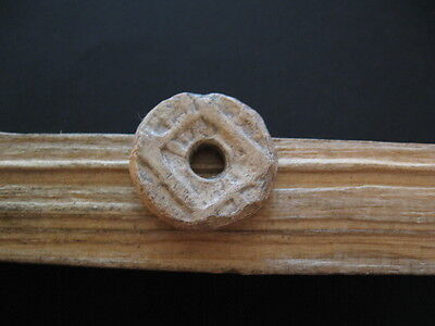 Temple With Thunderbolts Amulet Ancient Celtic Lead Magic Talisman 300-100 B.c.