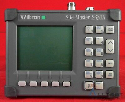 Anritsu S331A SiteMaster 25 to 3300 MHz Cable & Antenna Analyzer