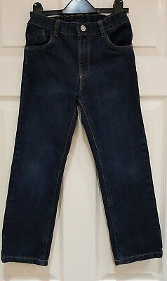 Boys Navy Jeans -  7  Years - TU - Excellent Condition