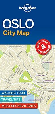 Lonely Planet Oslo City Map by Lonely Planet Book The Cheap Fast Free Post