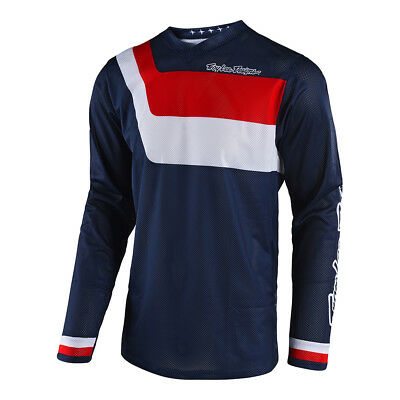 Troy Lee Designs GP Air Prisma Mens MX Offroad Jersey Navy
