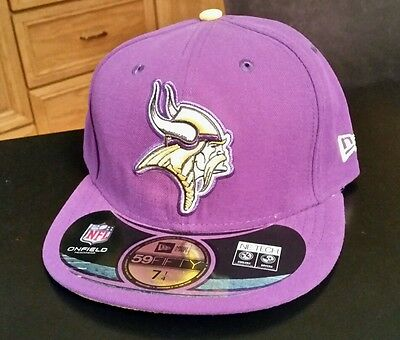top fashion 6b579 b29c1 ... 2 tone white team 59fifty cap nkhomes454sale a4513 1dfcc  amazon nwt  nfl minnesota vikings fitted new era 5950 59fifty hat cap size 6 7 8