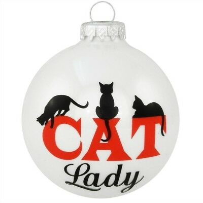 Cat Lady Christmas Ornament NEW!