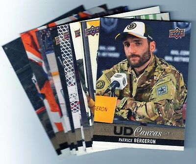 2013-14 UPPER DECK SERIES 1 & 2 CANVAS COMPLETE / FINISH YOUR SET - Pick 5